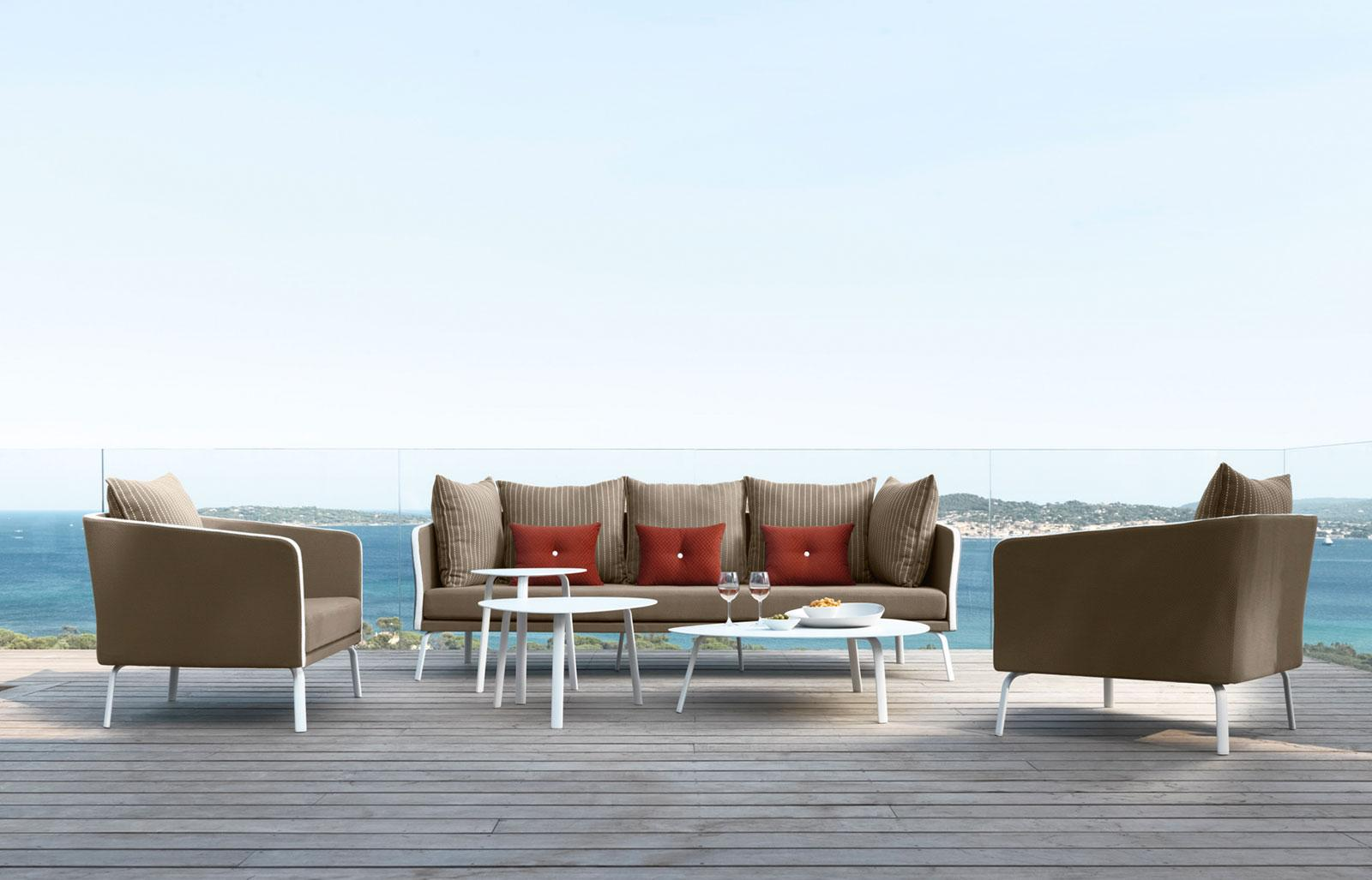Margot divano da esterno italy dream design for Arredamento esterno bar