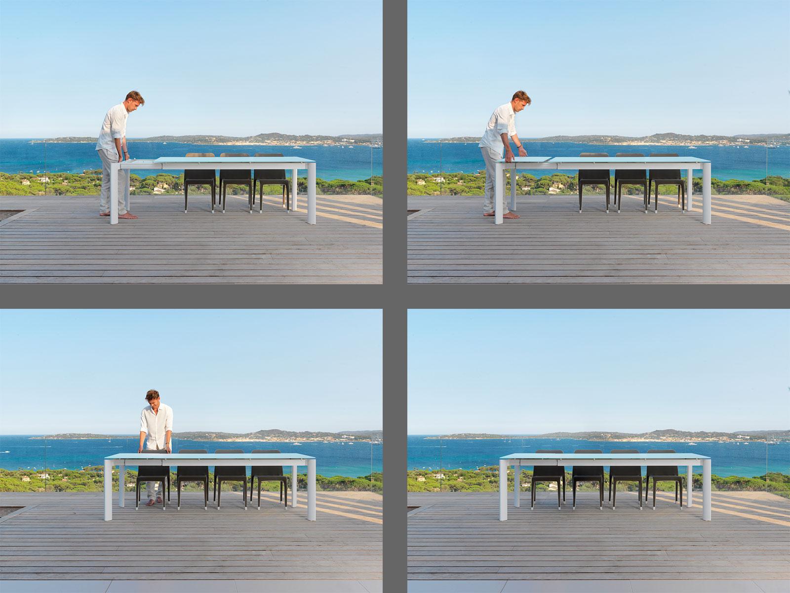 Margot tavolo allungabile italy dream design for Mobili giardino emu