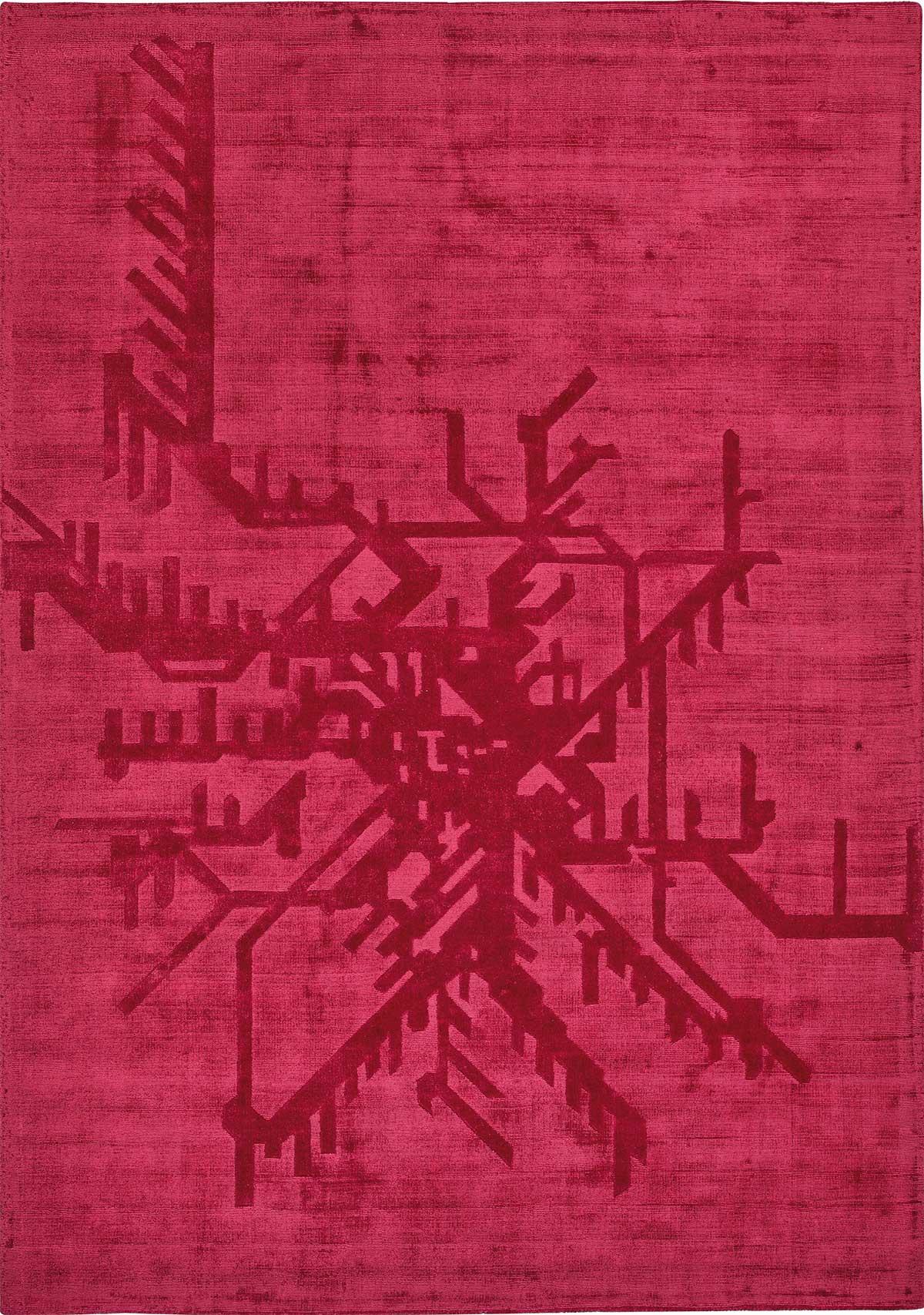 Tappeto rettangolare di alta qualità. Colore rosso, verde o oro in diverse dimensioni. Vendita online e consegna a domicilio gratuita di arredi per la casa.