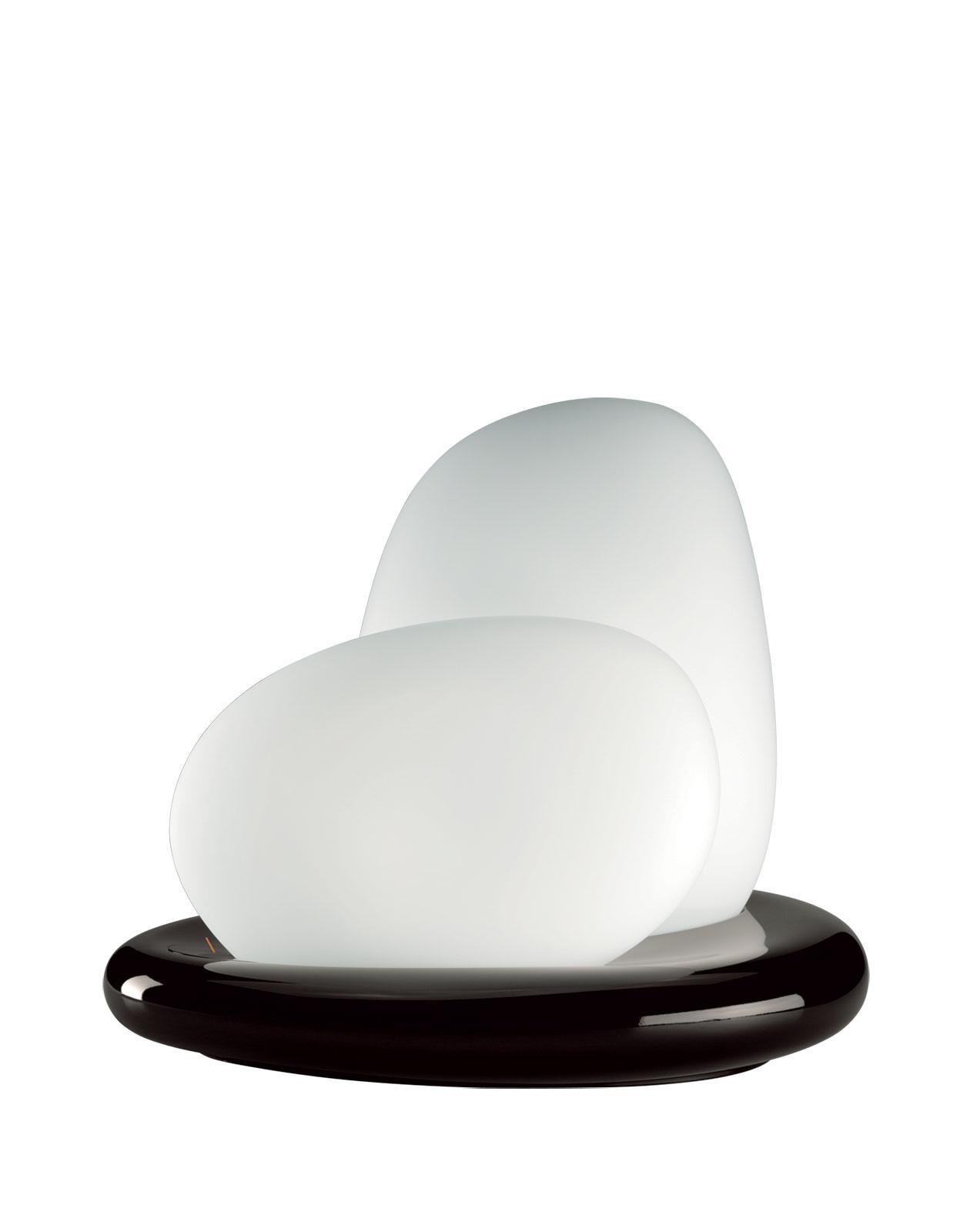 table lamp murano glass white design dimmer post made in italy light online white glass office light post