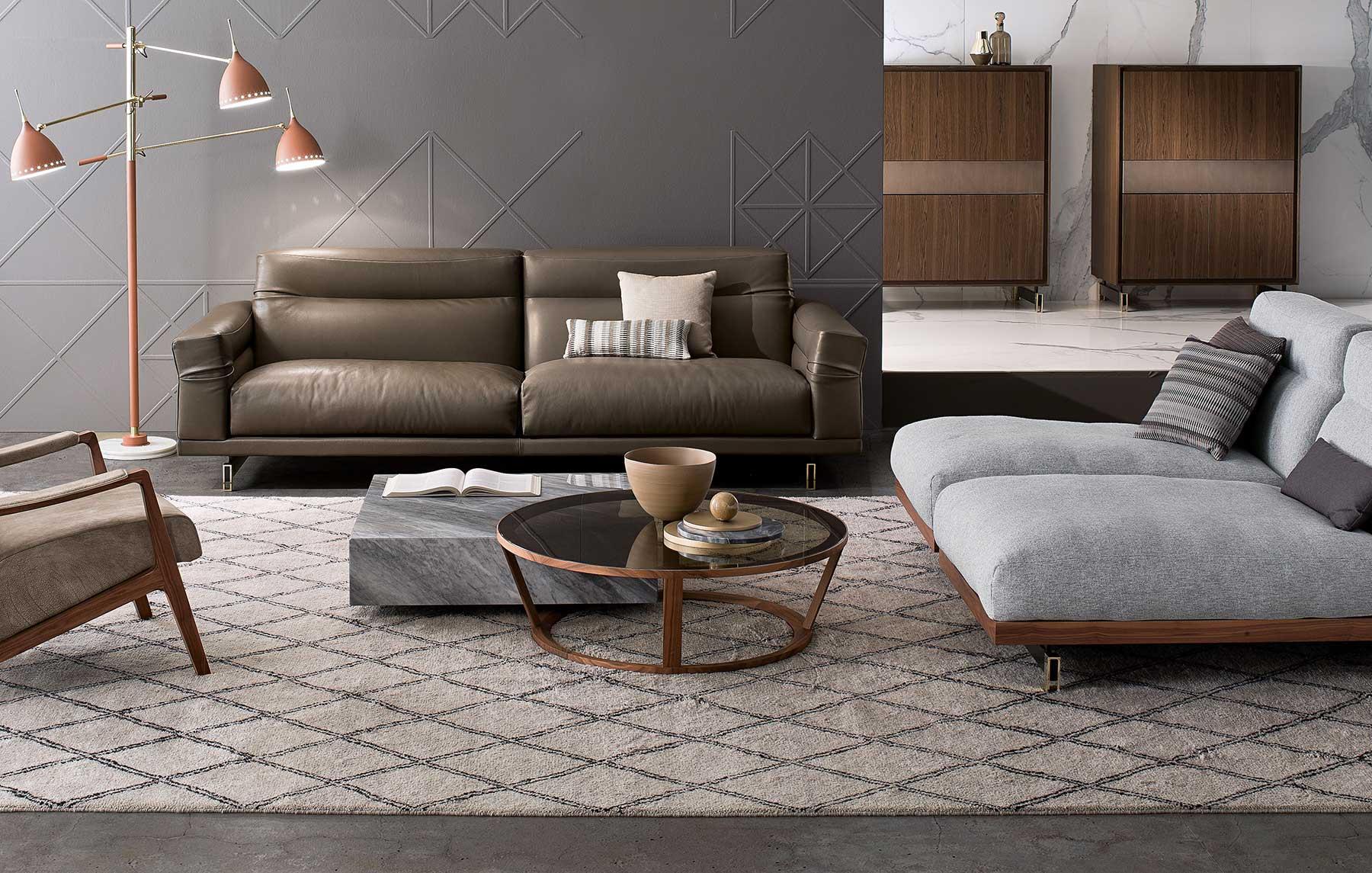 Tavolino in marmo e cristallo. Vendita online di tavolini design e mobili di lusso made in Italy. Consegna gratuita. Arredamento di alta qualità.