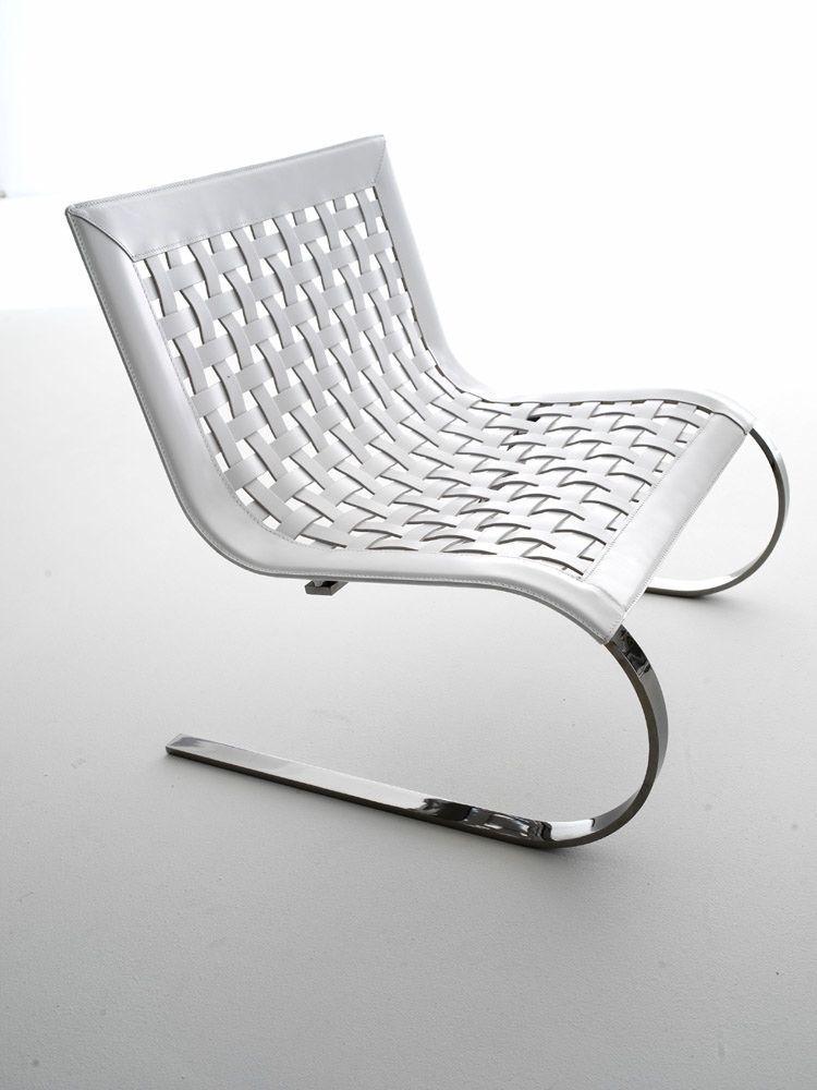 O 39 mies fauteuil lounge en cuir vente en ligne italy - Meubles contemporains classic design italia ...