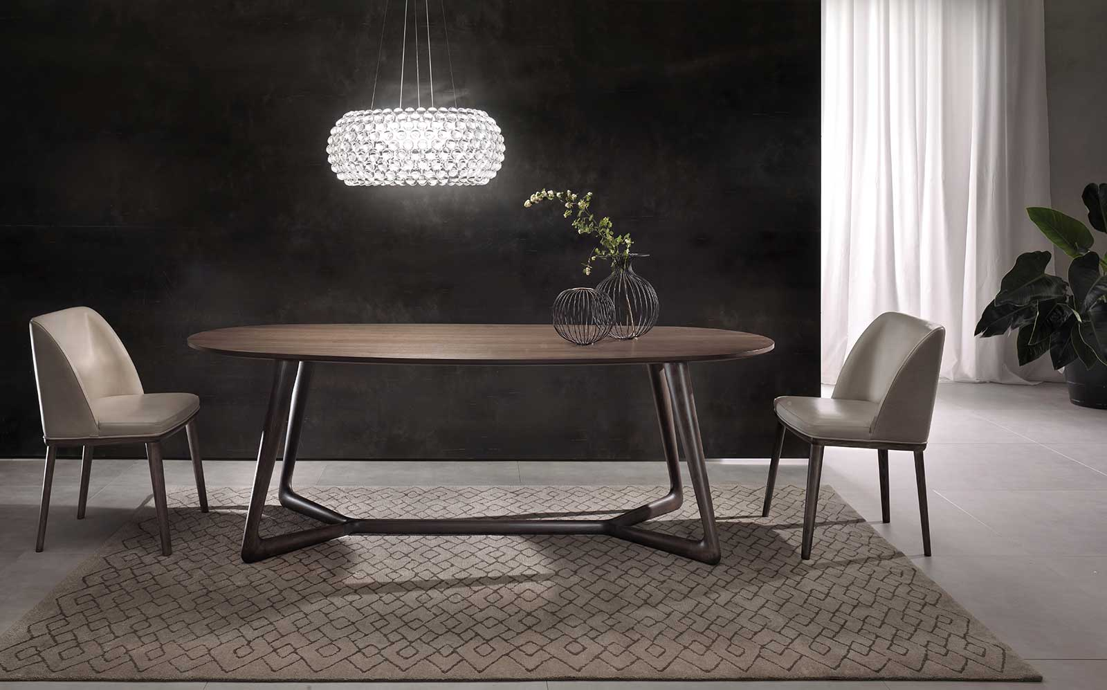 Over Oval Dining Table Buy Online Italy Dream Design