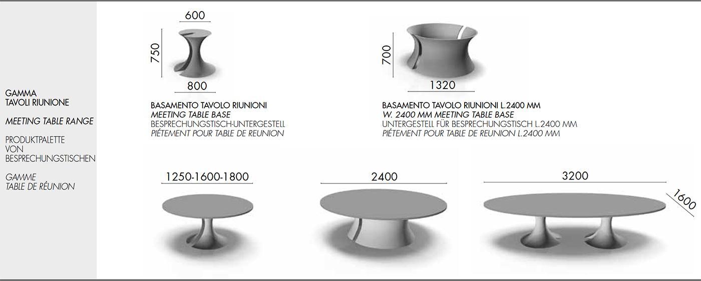 table de réunion directionnel bureau Mario Mazzer design haut de gamme luxe moderne en ligne mobilier meuble internet site italiens qualité managerial