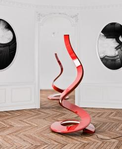 lampada da terra lampade a led da tavolo alogene moderne design piantana xxl originale resina