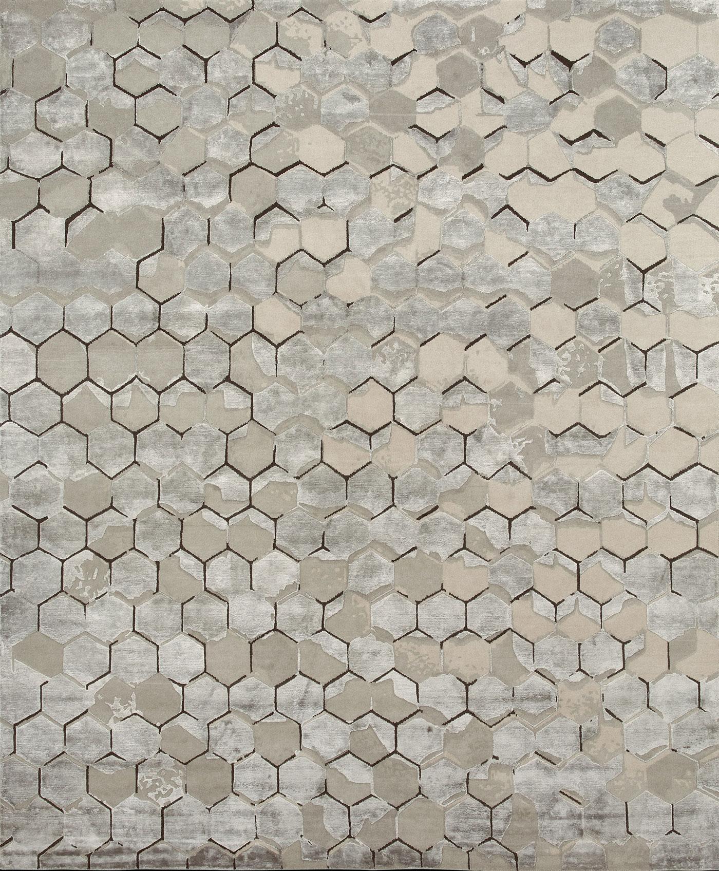 carpet pure wool silk rectangular original Shop for contemporary rugs blu