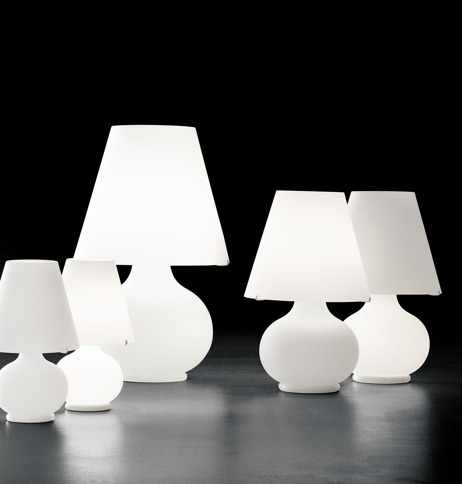 lampe poser en verre vente en ligne italy dream design. Black Bedroom Furniture Sets. Home Design Ideas
