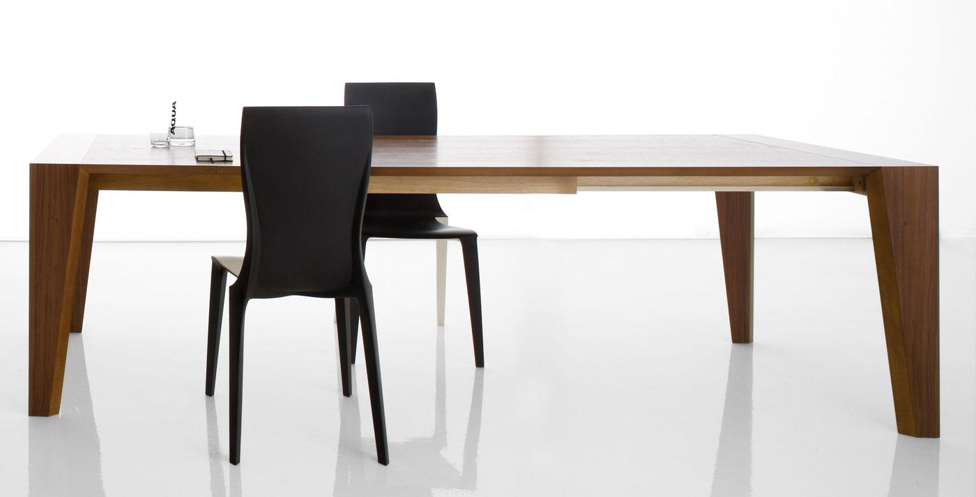 Haut of table extensible design table et chaises for Table extensible marbre