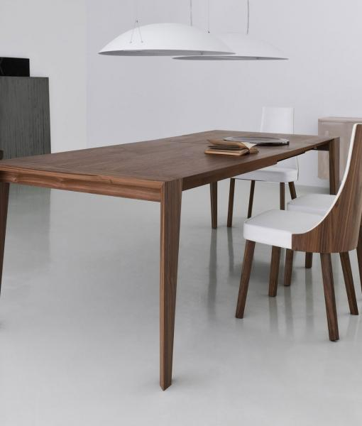 Merveilleux Extendable Wood Dining Table, Extensible Table Chairs Wood Italian Dining  Living Room Legs Modern Online