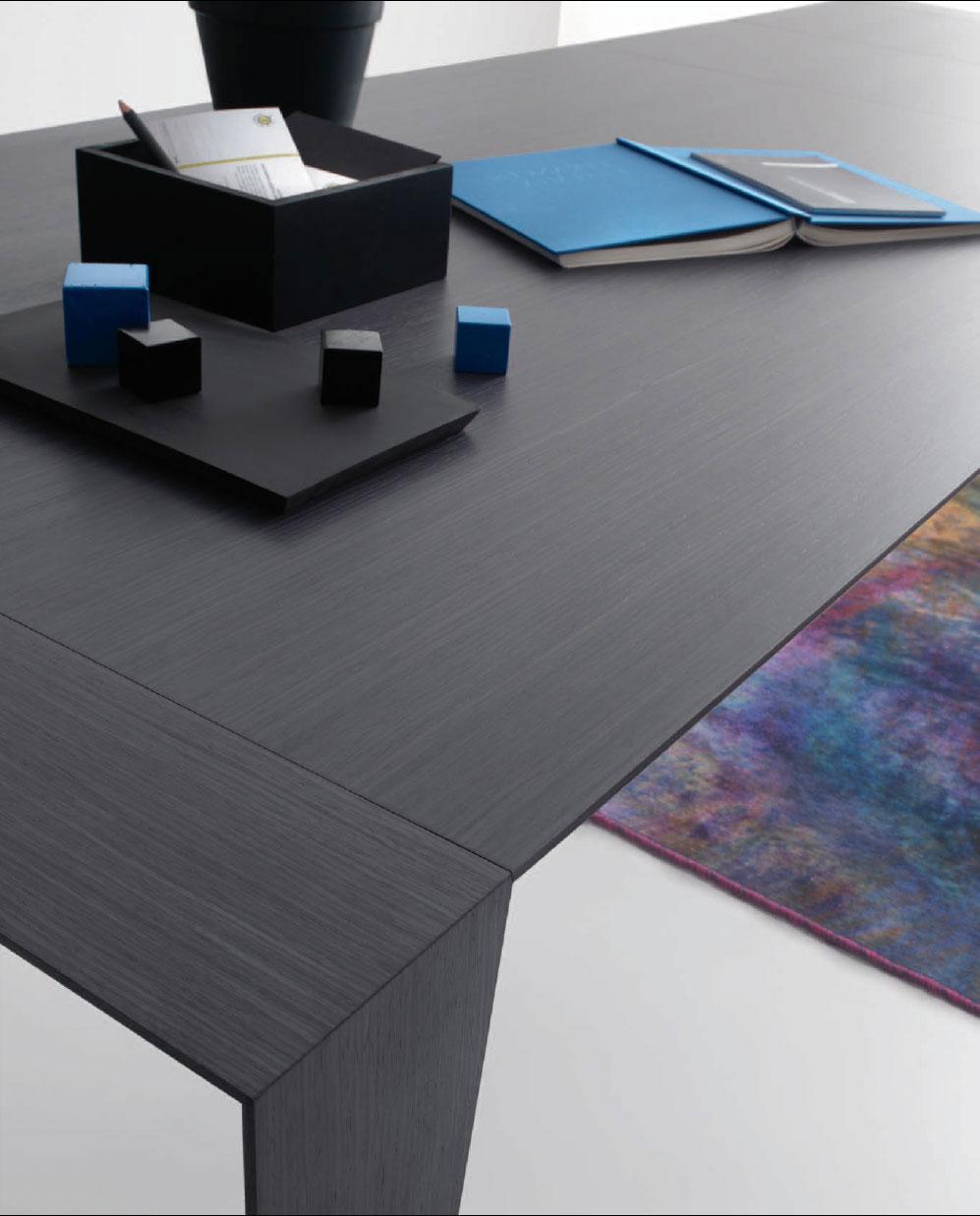 Table extensible rectangulaire design haut de gamme luxe maison moderne design en ligne meuble vente site qualité salle manger 10 personnes bois prix yacht