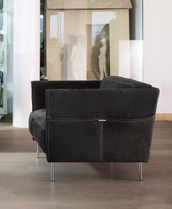 Trench Leather Armchair
