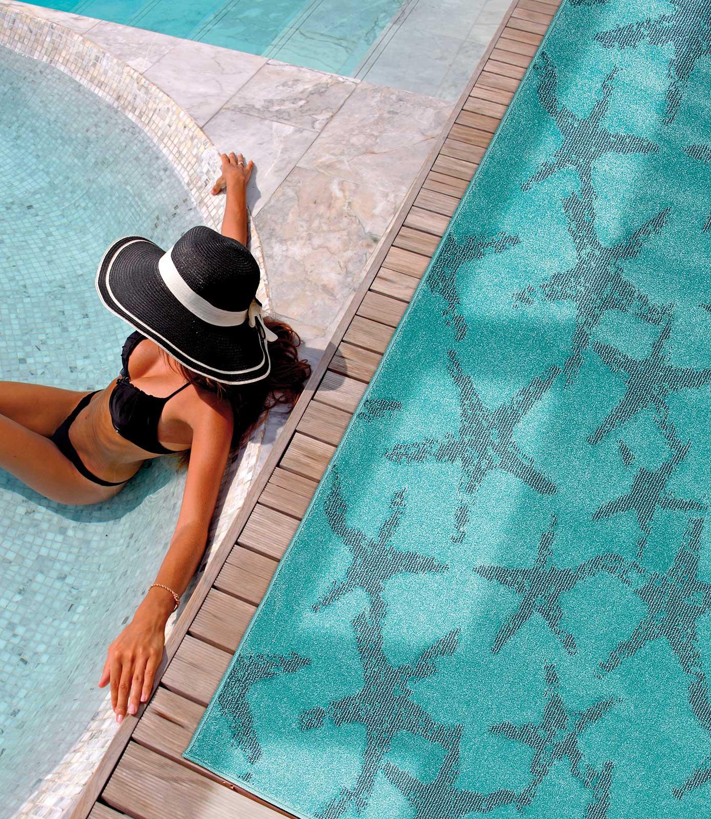 Dafne tappeto da esterno stelle marine italy dream design - Tappeto esterno ...