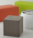 Furniture complement for additional accommodation. Available in several sizes, colours and coverings of leather or fire resistant eco-leather.