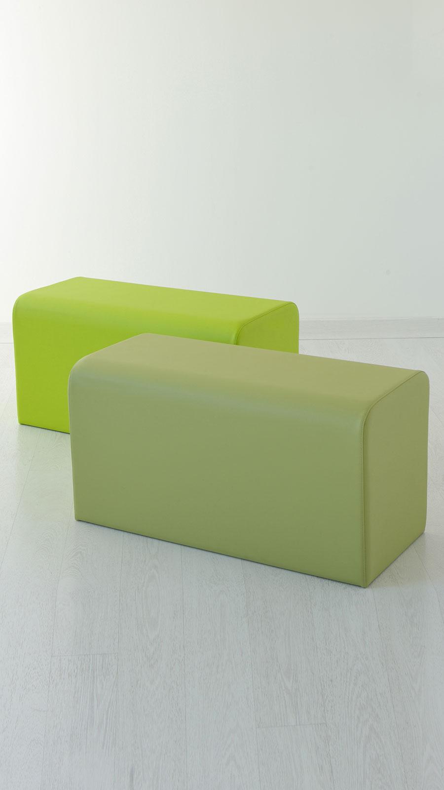 Pouf rettangolare 90 x 45 - Italy Dream Design