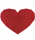Regina di Cuori is a Heart-shaped original and luxurious wool rug. Shop Online for the best Italian design. Free home delivery.