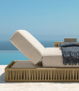An outdoor lounger for the most demanding people. Ludovica and Roberto Palomba created a magnificent luxurious sunbed. Online shopping and free delivery.