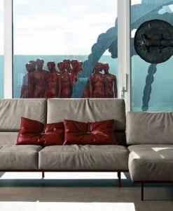 divano angolare misure pelle componibile grande bianco nero marrone 2 posti prezzo arredamento casa soggiorno design d'interni di lusso loft vendita yacht