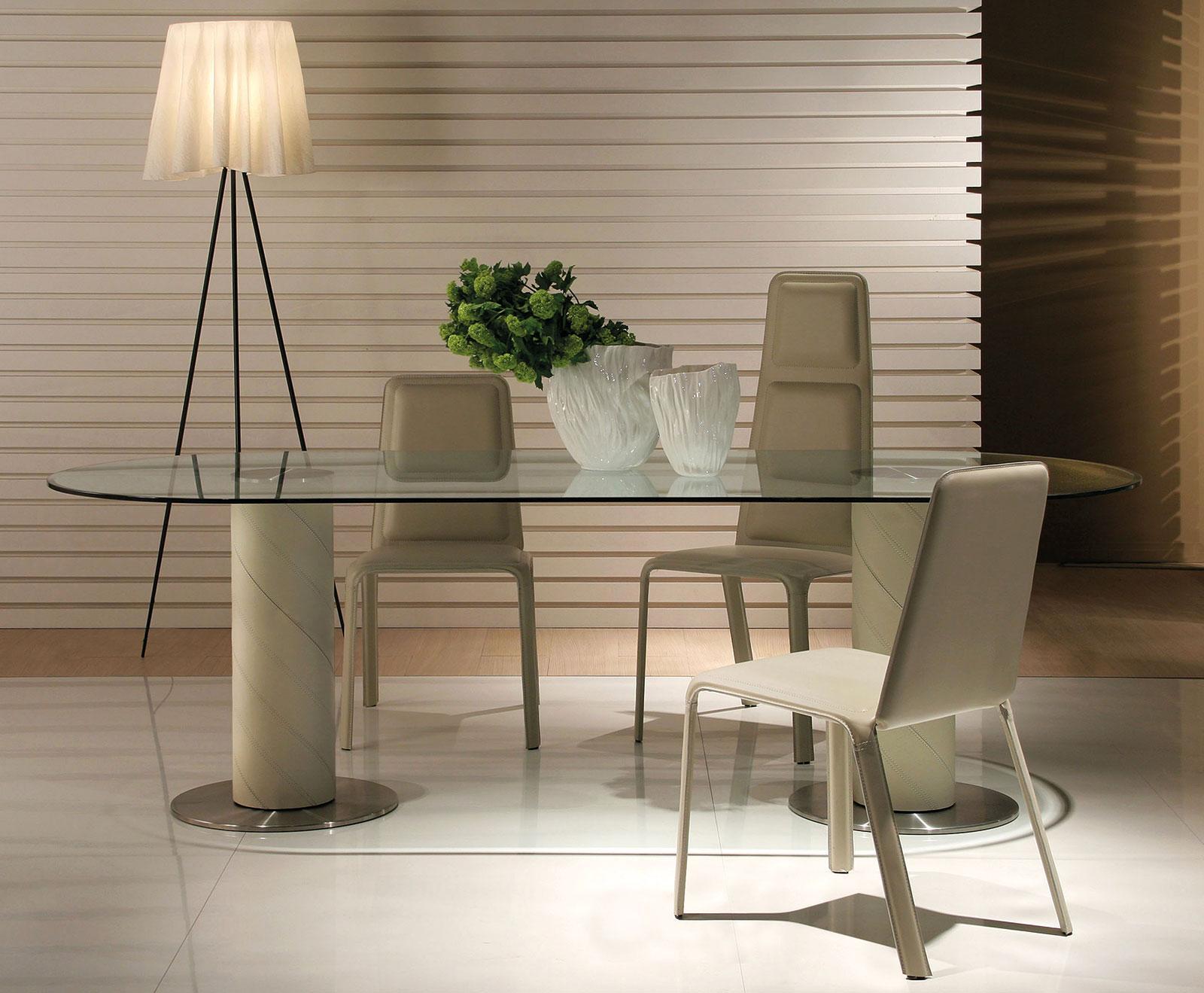Rolling 2b tavolo ovale italy dream design for Arredamento soggiorno moderno di lusso
