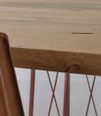 Dalle storiche briccole della laguna di Venezia, il piano in legno del tavolo rettangolare Roxy, numerato con certificato di autenticità. Consegna gratuita.