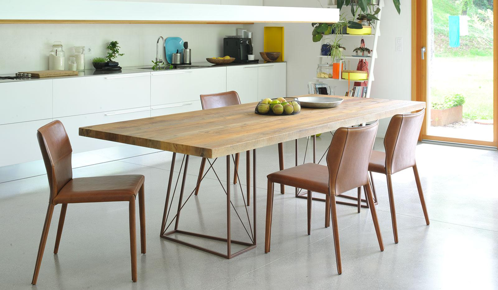 "Be The First To Review ""Roxy Dining Table In Venetian Briccola Wood  #9C6C2F 1600 934 Tavoli Da Pranzo Design"