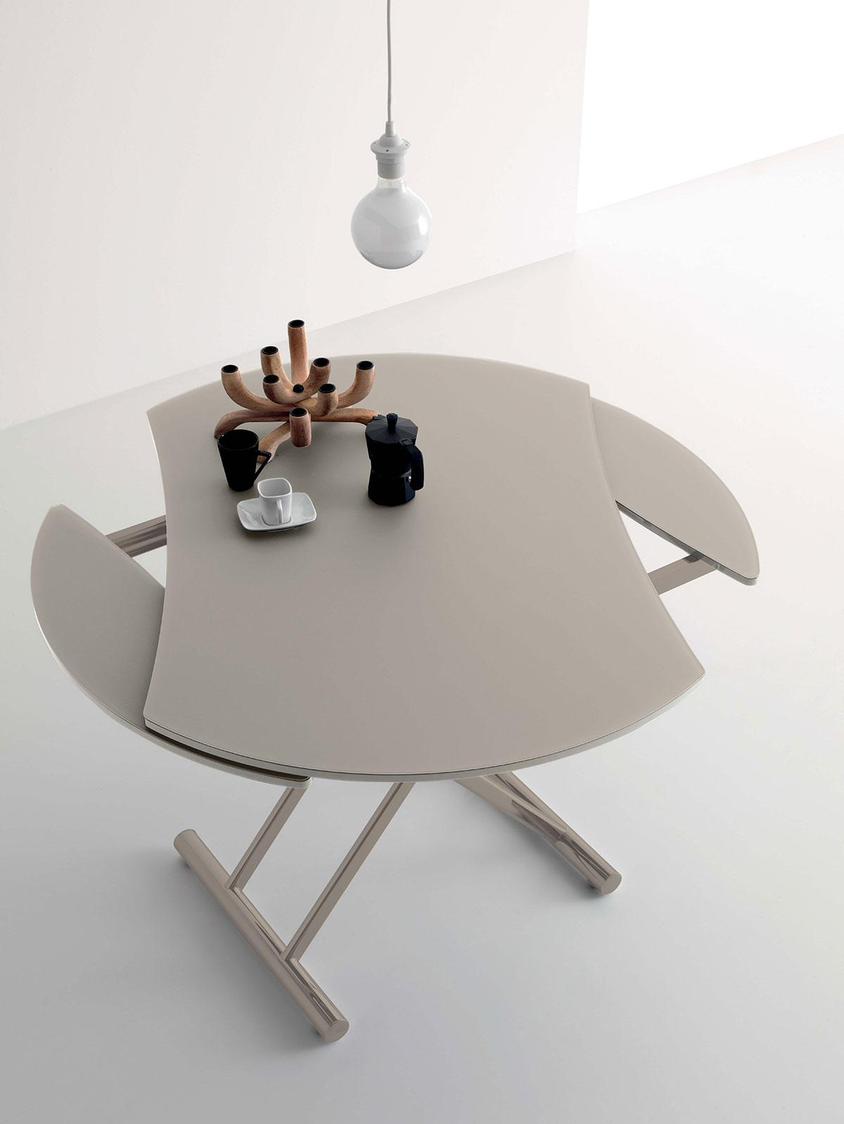 Up and down table transformable idd - Table ronde transformable ...