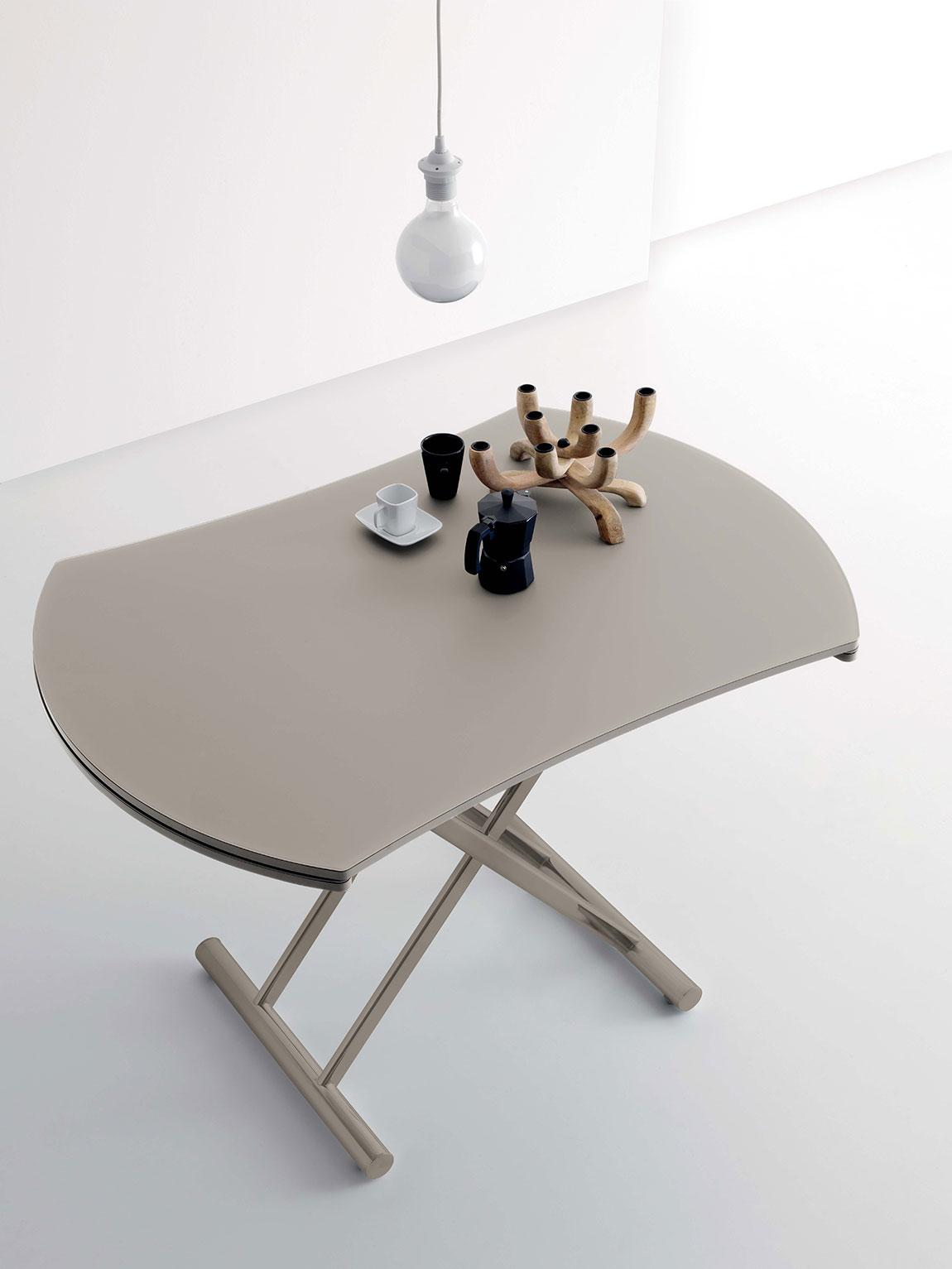 Up and down table transformable idd for Table basse up and down