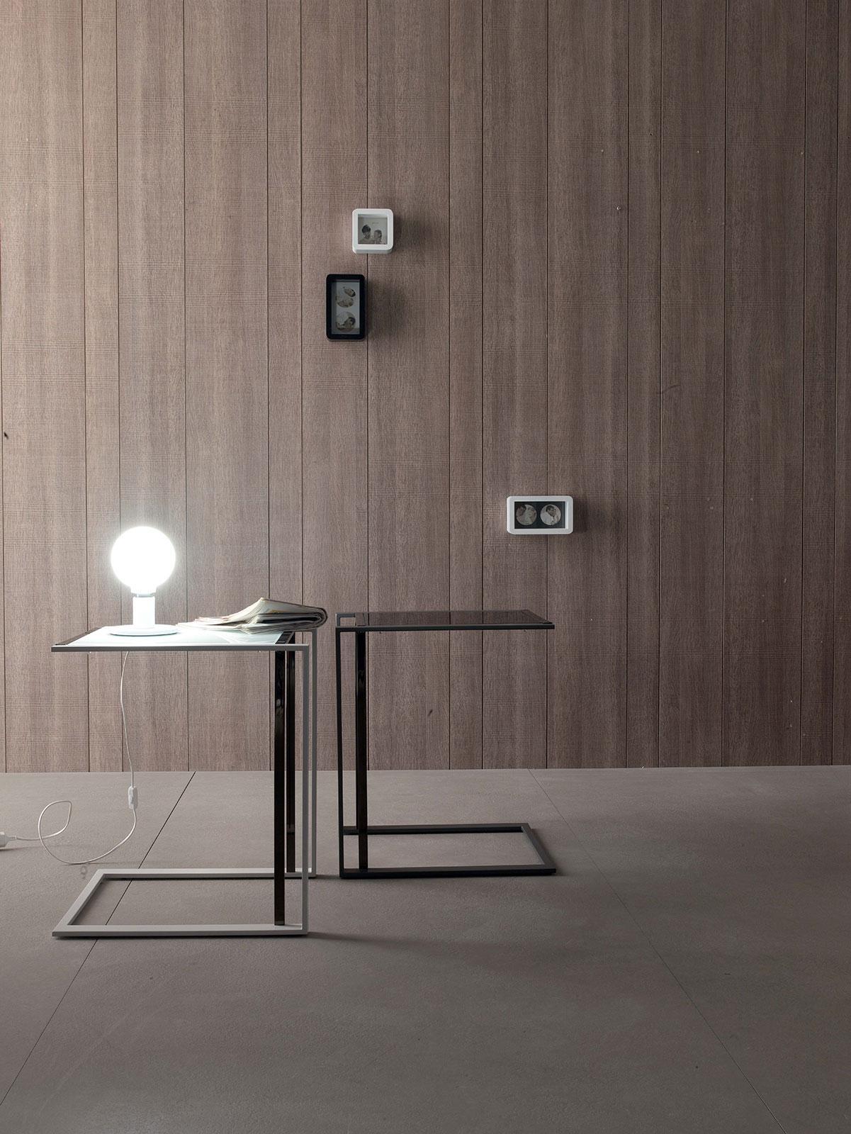 Quadro tavolino in vetro e metallo   italy dream design