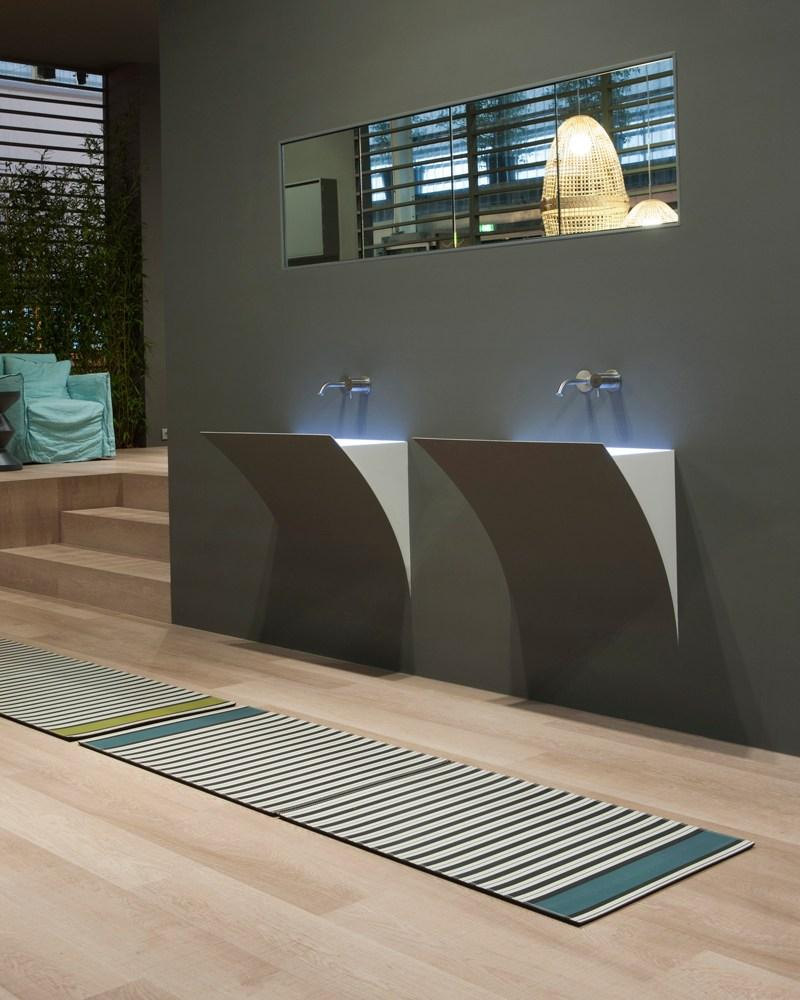 lavabo STRAPPO by Antonio Lupi