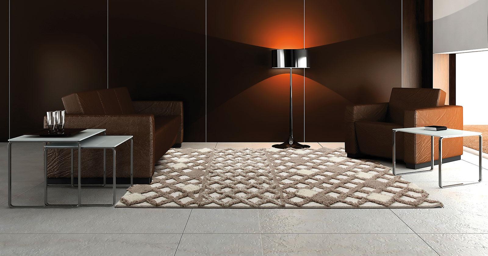 Dune ivory tapis contemporain idd for Tapis italien design