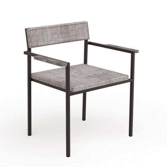 Brilliant Santafe Garden Chair With Arms Beutiful Home Inspiration Xortanetmahrainfo