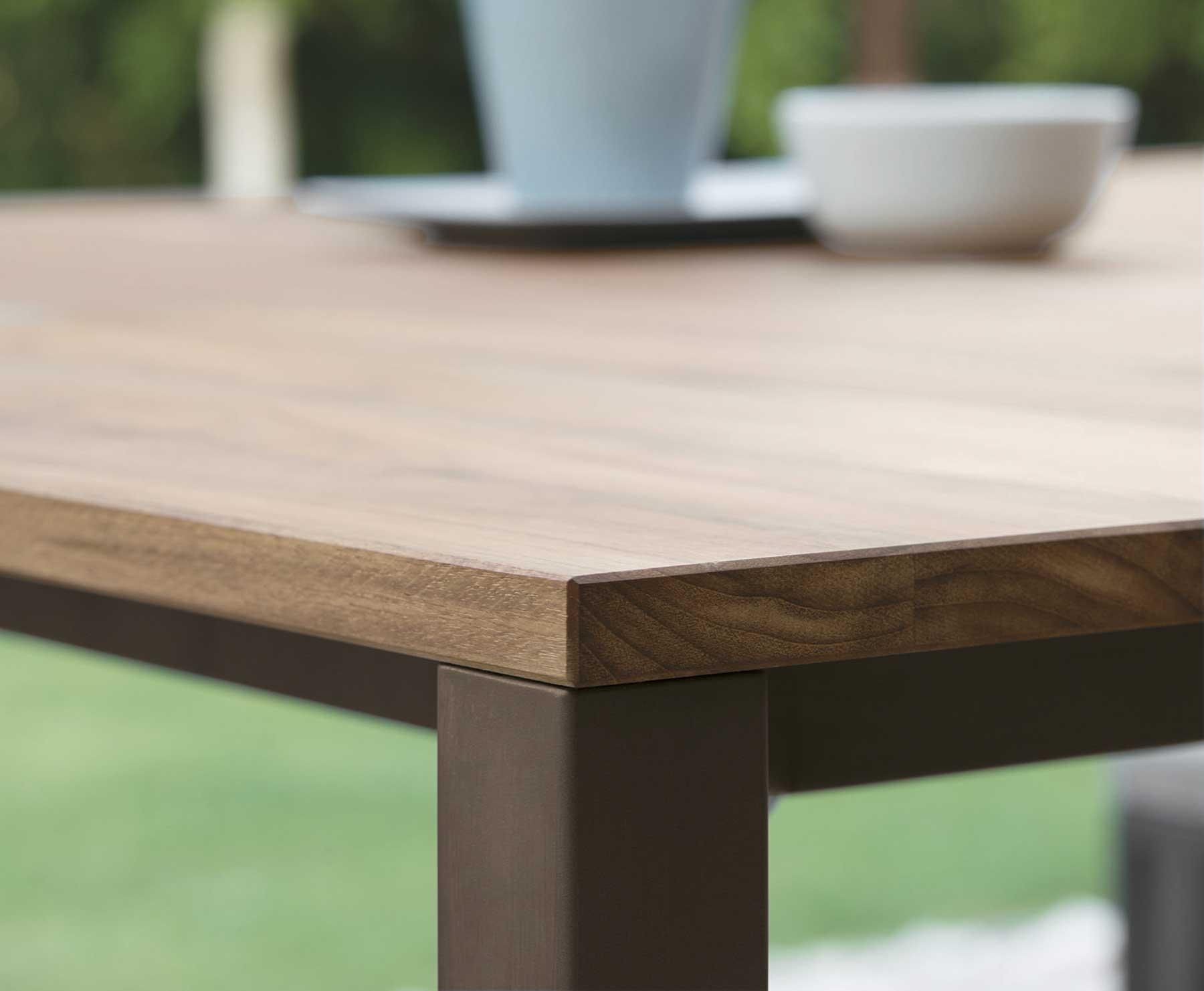travertine patio table Modern Patio amp Outdoor : SantaFe tavolo testa di moro dettaglio from patiodesign.susumeviton.com size 1800 x 1481 jpeg 61kB