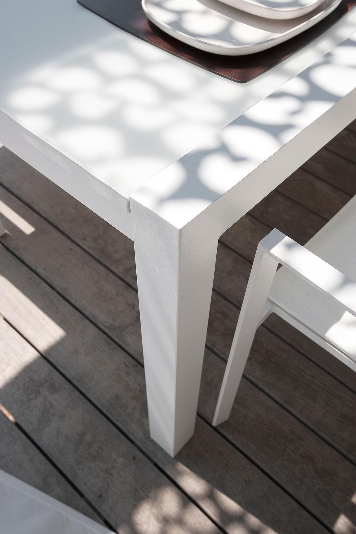 Table Jardin Extensible en Aluminium | Vente en Ligne - Italy Dream ...