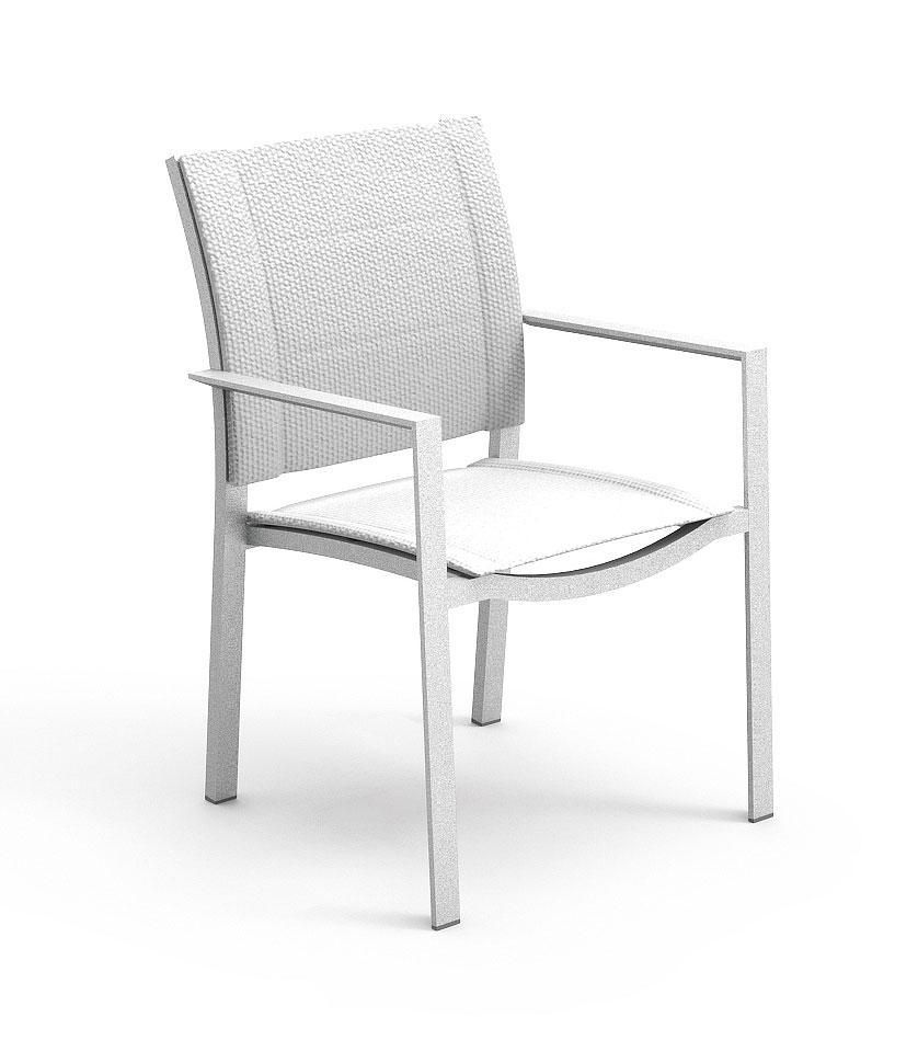 Sense Armchair   Aluminium Structure   Textilene Seat And Backrest