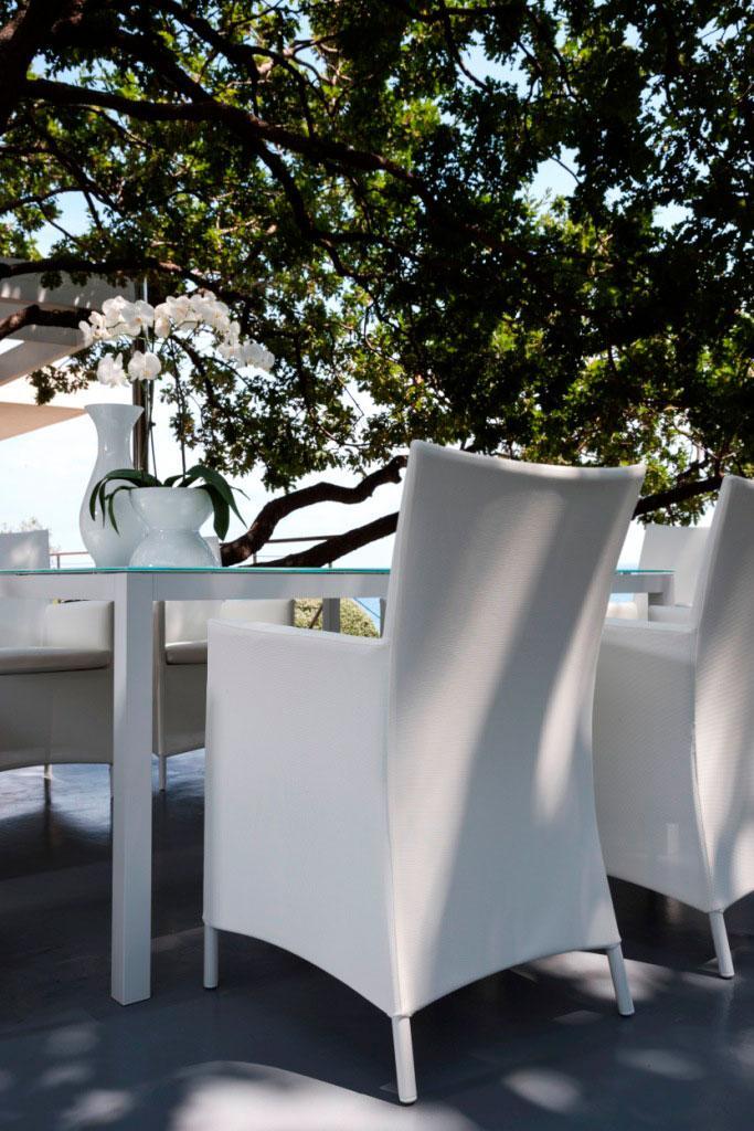 Sense tavolo da esterno quadrato   italy dream design
