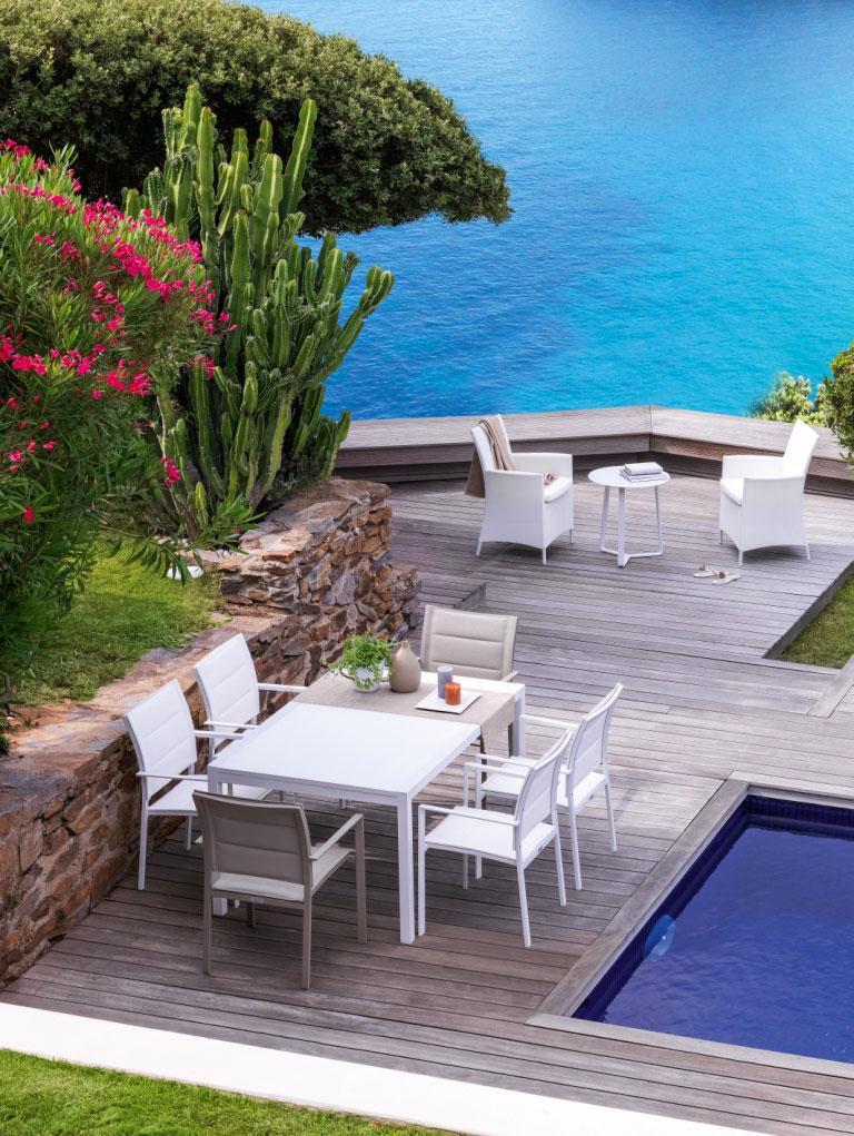Sense tavolo da esterno 150 225 italy dream design for Arredo terrazza giardino offerte