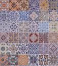 Sicily Multi stuoia tappeto rettangolare