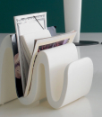 Sinuo is an original and amazing luxury magazine rack. This modern magazine rack offers unique design, sinuous lines and vibrant colours. Shop for modern magazine racks.