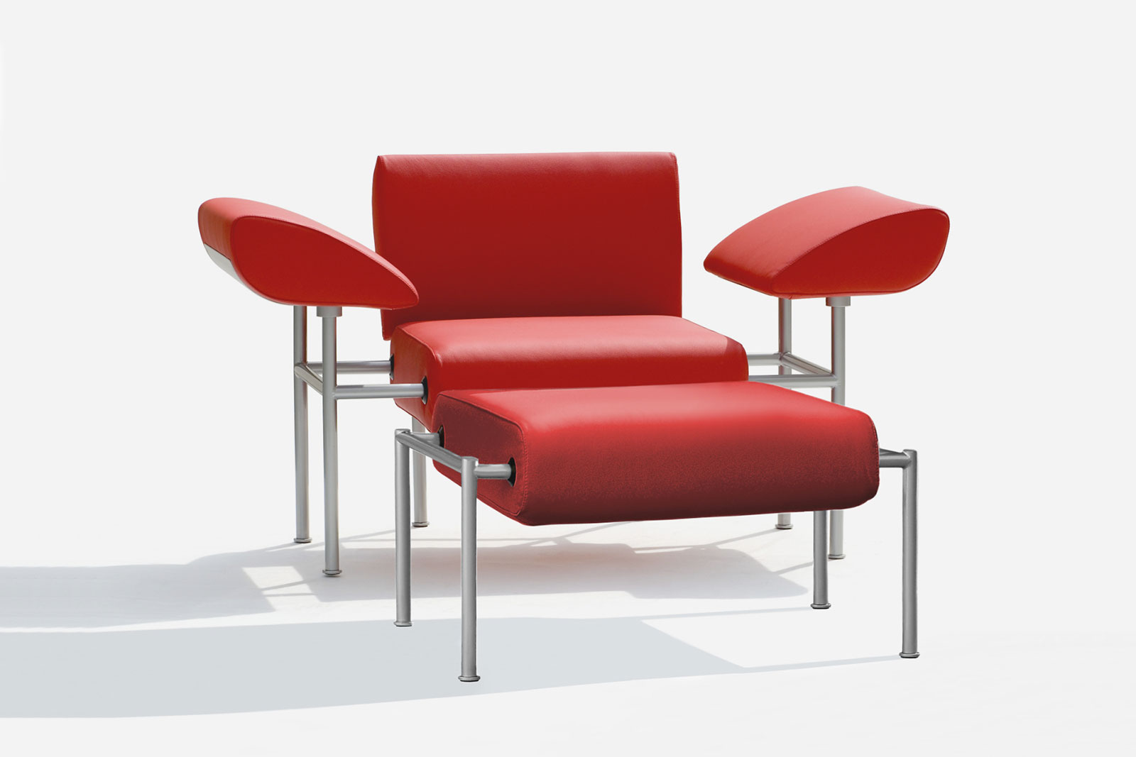 Spelt poltrona armchair fauteuil poggiapiedi footrest repose pied 1