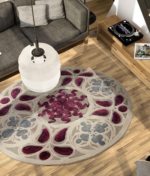 Spirale tappeto contemporaneo rotondo   italy dream design