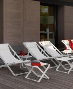 Tann is a modern deck chair that makes a perfect addition to any outdoor setting. Shop online for luxury deck chair or high quality pool lounge chairs.