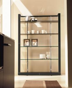 libreria biblioteca arredamento casa / ufficio on line moderno di lusso 2015 design inspiration web made in italy cuoio vetro temperato contemporaneo