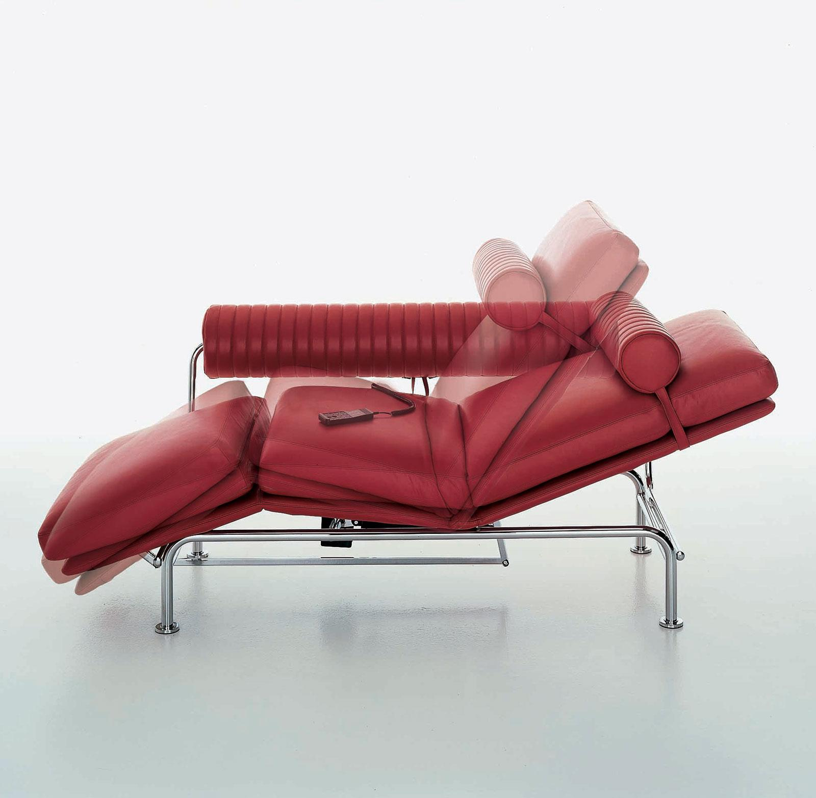 Up down chaise longue de luxe en cuir vente en ligne for Chaise longue interieur