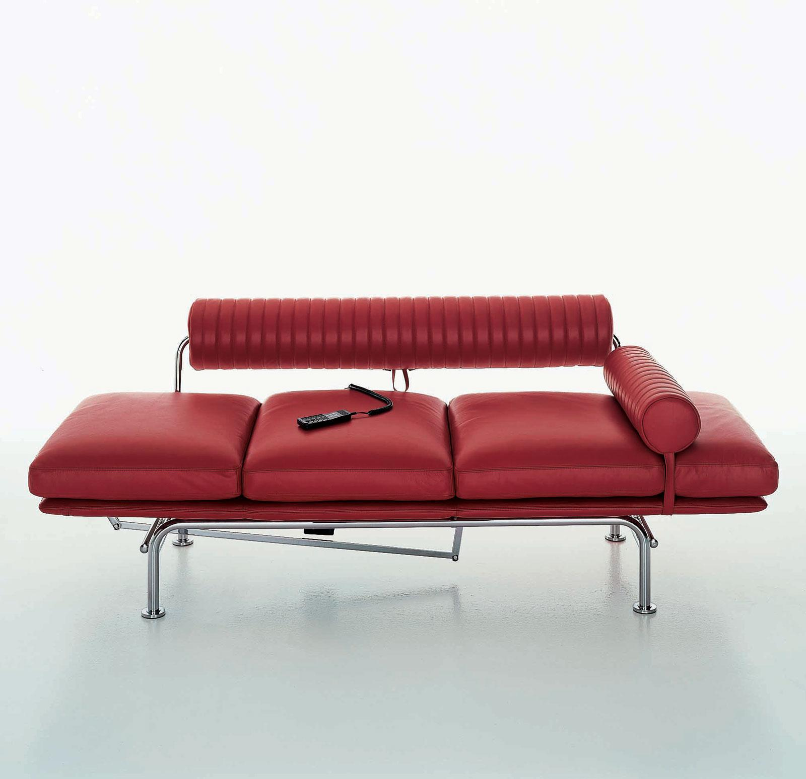 Up Amp Down Powered Sofa Chaise Longue Leather Covered Idd