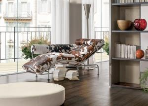 divano chaise-longue pelle Ammannati Vitelli bianco nero marrone prezzo arredamento casa ufficio on line moderno di lusso 2017 design web made in italy