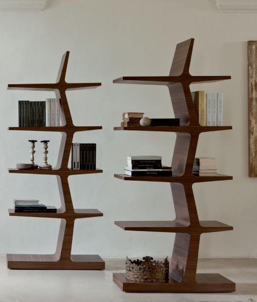 Alba libreria in legno massello - Italy Dream Design