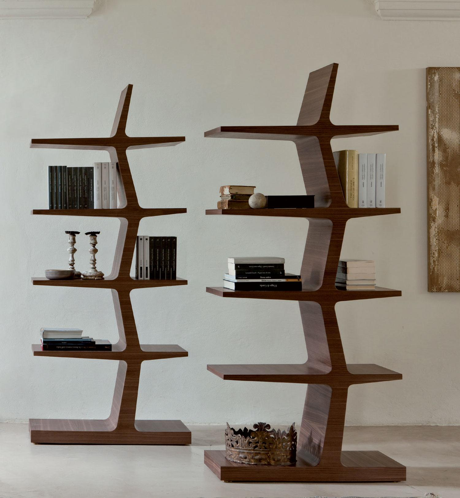 alba libreria in legno massello - italy dream design