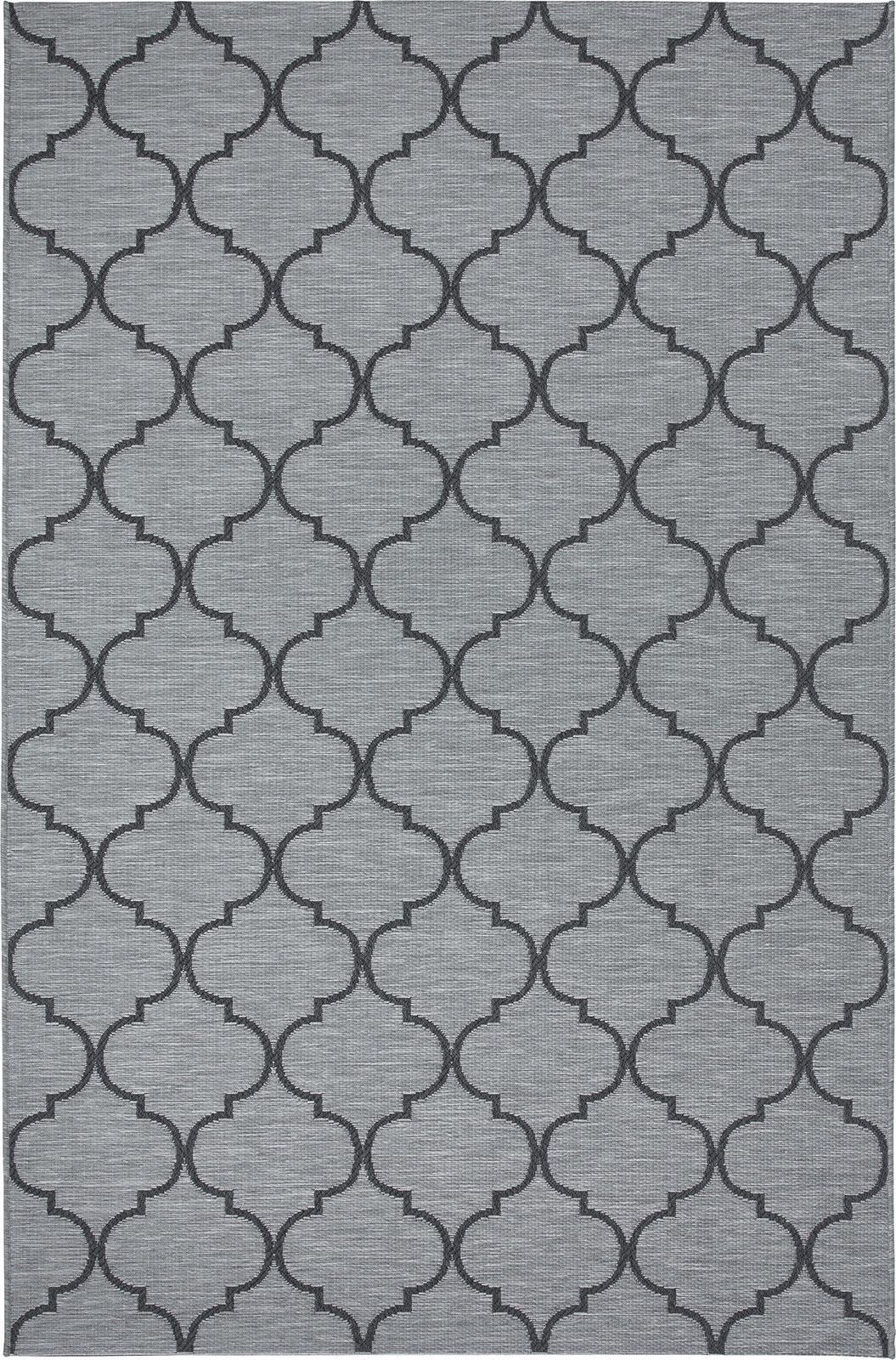 Zag tappeto da esterno italy dream design - Tappeto grigio chiaro ...