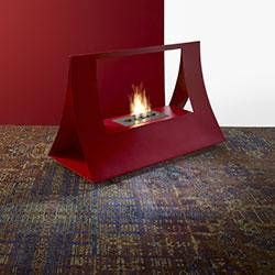 Floor fireplaces