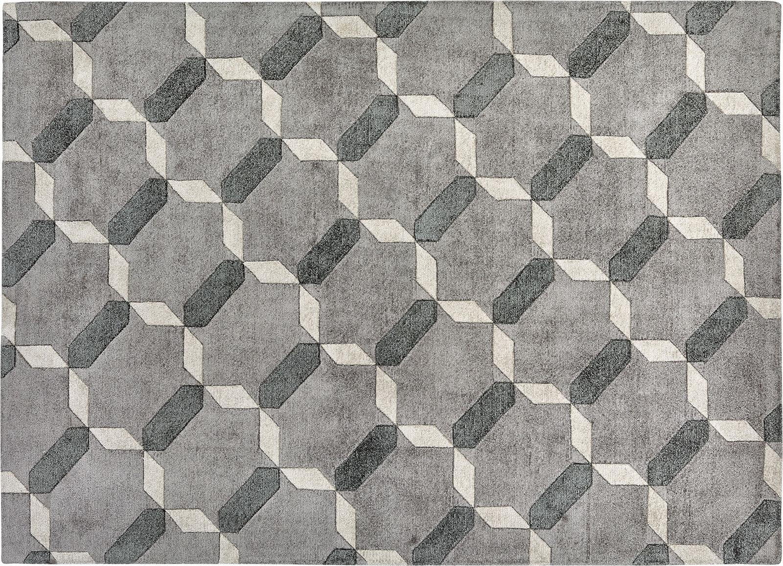 Tappeto Italian : Penelope grey contemporary luxury carpet shop online