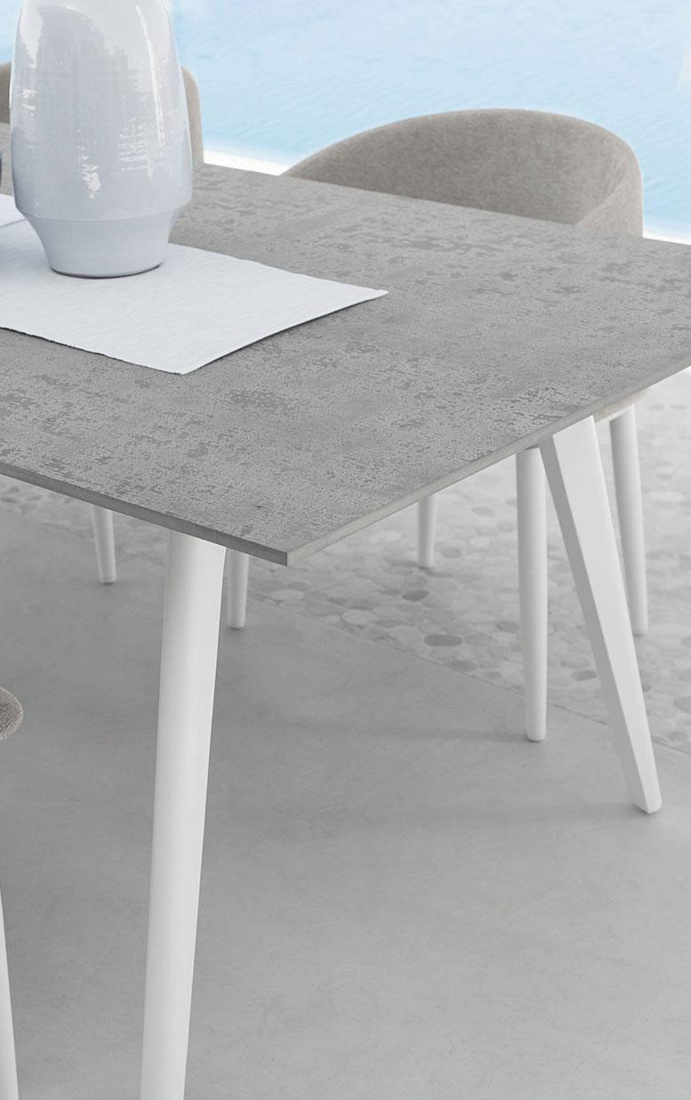 Table de Jardin Aluminium | Vente en Ligne - Italy Dream Design